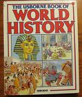 The Usborne Book of World History Childrens Encyclopedia of History HC 1985