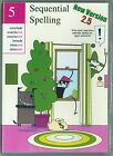 Volume 5 Sequential Spelling DVD ROM NEW Version 25 Classic Series 2014