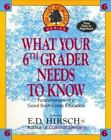 Core Knowledge What Your Sixth Grader Needs to Know  Fundamentals of a Good Si