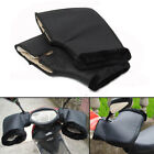 Faux Leather Waterproof Motorcycle Handle Bar Winter Warm Muffs Glove Protective
