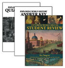 Notgrass Exploring World History Student Review Quiz  Exam Pack 2014 Edition