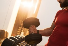 The Best Dumbbell training for athleticism court.