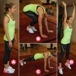 6 Exercises Fitness For The Whole Body Look Slender, Small Waist