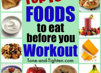 Top 10 Workout Foods