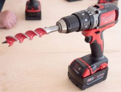 milwaukee-2701-m18-compact-brushless-drill-with-auger-bit
