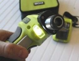 LED - Ryobi Auto Hammer Hands-on