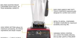 Review Vitamix Blender Version 5200