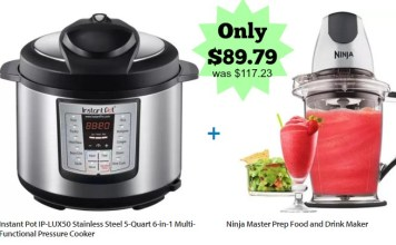 Instant Pot IP LUX Series Specifications