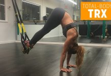 This 5-Move TRX Workout Will Sculpt Your Bod and Blast Mega Cals