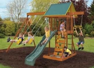 Meadowvale Wooden Swing Set