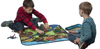 ZipBin 160 Dinosaur Collector Toy Box & Playset