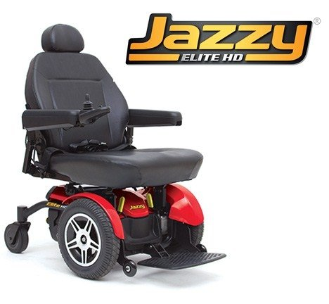 Pride Jazzy Elite HD boasts a number of outstanding features