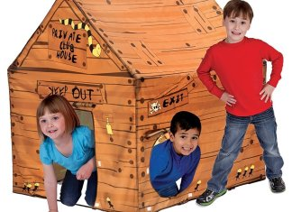 Pacific Play Tents Club House Tent features fun
