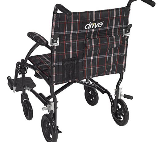 Drive Medical Fly Lite Ultra Lightweight Transport chair