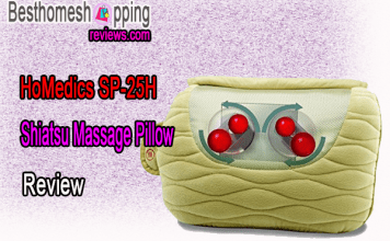 HoMedics Shiatsu Massage Pillow SP-25H Review