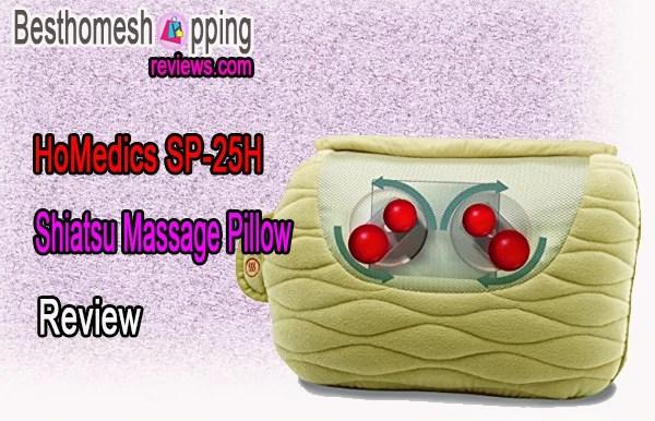 HoMedics Shiatsu Massage Pillow SP-25H Review