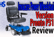 Invacare Power Wheelchair Version Pronto P31 Review