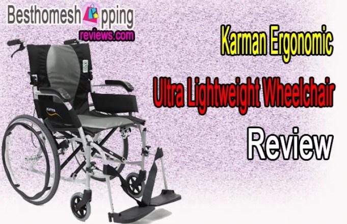 Karman Ergonomic Ultra Lightweight Wheelchair Review