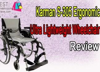 Karman S-305 Ergonomic Ultra Lightweight Wheelchair Review