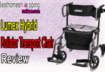 Lumex Hybrid Rollator Transport Chair Review