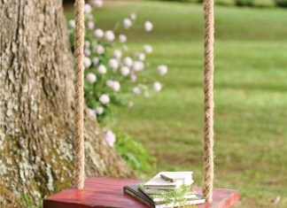 Plow & Hearth Exclusive - Swing back in time with our nostalgic rope tree swing