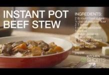 Beef Stew in Instant Pot