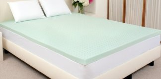 Sleep Studio 2-Inch ViscO2 Green Tea Memory Foam Mattress Topper