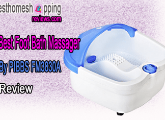 Best Foot Bath Massager By PIBBS FM3830A Review
