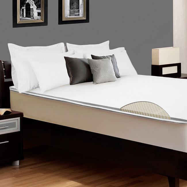 2 Inch Ergosoft Natural Latex Foam Mattress Pad Topper Review Bestter Choices Bestter Living