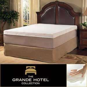 Grande Hotel Collection Posture Support 14-inch Trizone Memory Foam Mattress Review