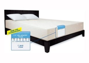 Serta 12-Inch Gel Memory Foam Mattress Review