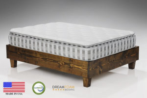Dreamfoam Bedding Ultimate Dreams Crazy Quilt Pillow Top Mattress
