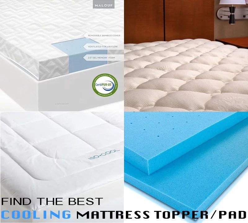 best cooling mattress topper pad ultimate guide top picks bestter choices bestter living. Black Bedroom Furniture Sets. Home Design Ideas