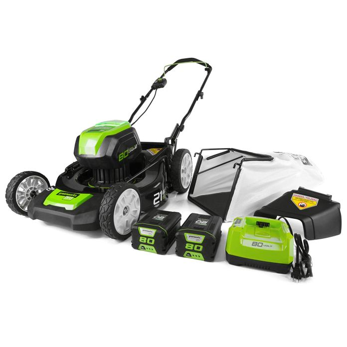 Best Electric Lawn Mower 2018 By Greenworks GLM801601