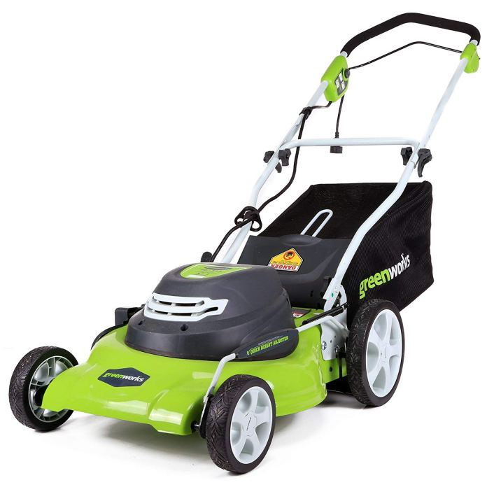 Best Lawn Mower For Small Yard 2018 by Greenworks 25022