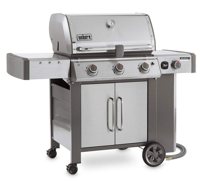 Best Natural Gas Grills 2018 By Weber Genesis II LX S-340