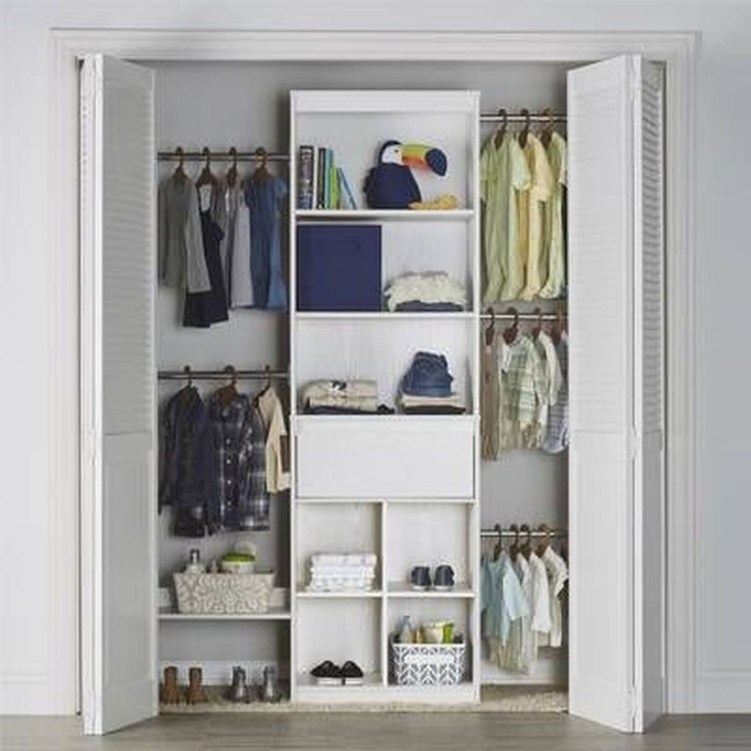 Amazing Closet Room Design Ideas For The Beauty Of Your Storage34