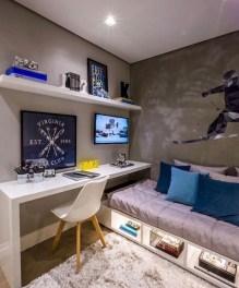 Attractive Teenage Bedroom Decorating Ideas For Comfort In Their Activities27