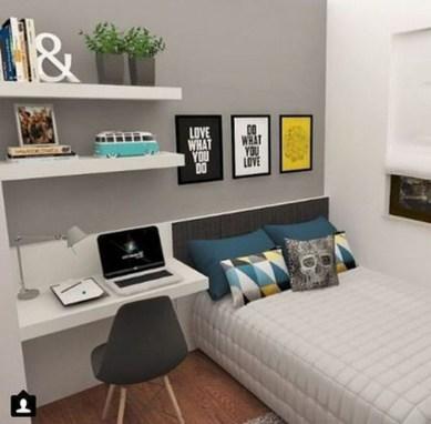 Attractive Teenage Bedroom Decorating Ideas For Comfort In Their Activities29