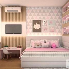 Attractive Teenage Bedroom Decorating Ideas For Comfort In Their Activities34