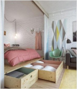 Awesome Bedroom Storage Ideas For Small Spaces09
