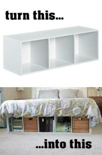 Awesome Bedroom Storage Ideas For Small Spaces12