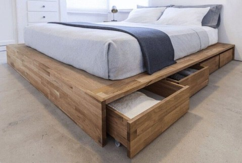 Awesome Bedroom Storage Ideas For Small Spaces23