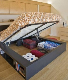 Awesome Bedroom Storage Ideas For Small Spaces47