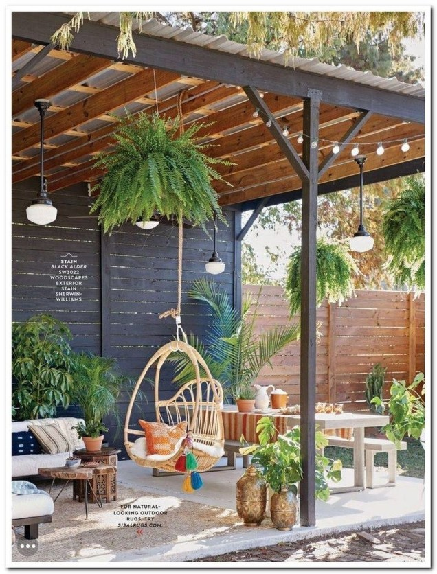 Awesome Outdoor Patio Decorating Ideas39