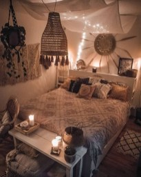 Beautiful Boho Rustic And Cozy Bedrooms03