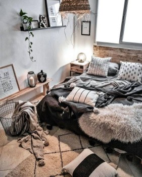 Beautiful Boho Rustic And Cozy Bedrooms28