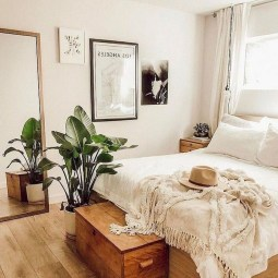 Beautiful Boho Rustic And Cozy Bedrooms30