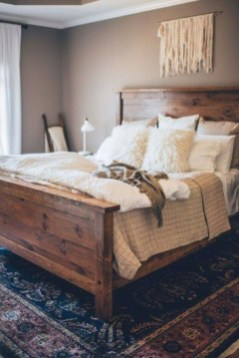 Beautiful Boho Rustic And Cozy Bedrooms35