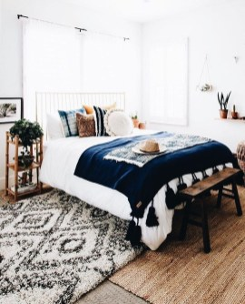 Beautiful Boho Rustic And Cozy Bedrooms43